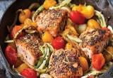 Pan Roasted Salmon   Ideal Protein Recipes Naperville Plainfield Bolingbrook Illinois
