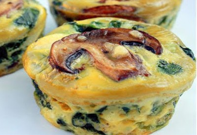 Spinach and Egg Cups